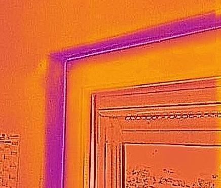 Schimmel Fensterwange Fensterrahmen Schimmel
