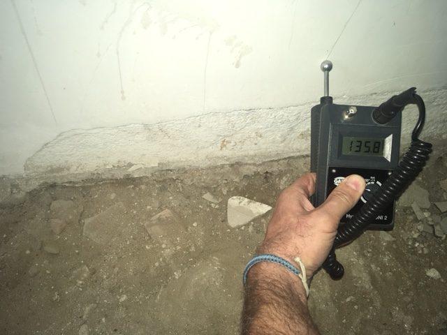 Feuchteschaden nach Wasser im Keller - nach Starkregen