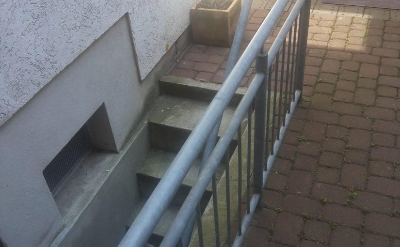 Keller - Kellerabgang - feuchter Keller trocken legen - Kellerabgang sanieren?